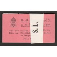 """H.87, Gustaf V 90 år    original 10-pack """"S.L."""""""