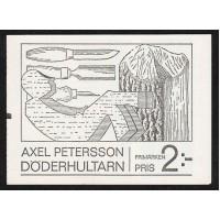 """H.213, Axel Pettersson """"Döderhultarn"""" RT 8x2mm"""