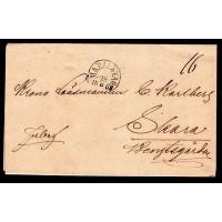 MARIESTAD 28-8-69 på brev till Skara