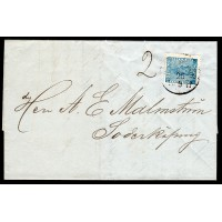 F.9, 12 öre Vapen, GÖTEBORG 25-5-71, brev med innehåll till Söderköping