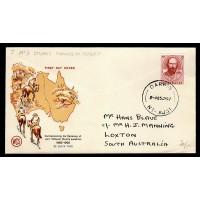 Australien, Commemorating the Centenary of John McDouel Stuarts expedition, FDC