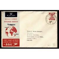 Indien, BOAC Comet Jetliner Service London-Colombo