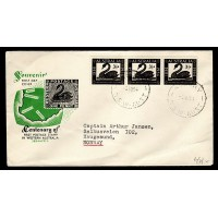 Australien, Centenary of first Postage Stamp in Western Australia, FDC