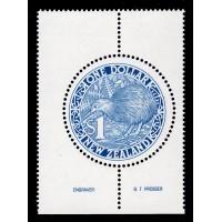 Nya Zeeland - SG.1490c, £1 Kiwi, **