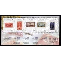 Nya Zeeland - SG.2782MS, 150th Anniversary of New Zealand stamps (2nd issue), **