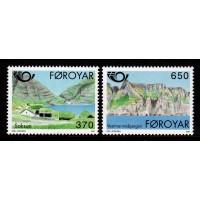 Färöarna - F.221-222, Norden 1. Turism, **