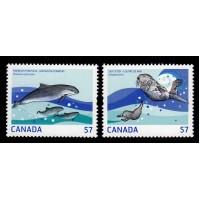 Kanada - SG.2676-2677, 57c Vattendjur, **