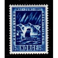 Norge - F.259, 15+10 öre Hålogalandutställningen, *