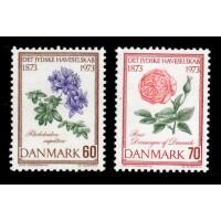 Danmark - F.568-569, Det Jydske Haveselskap 100 år, **
