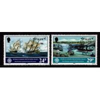 Jersey - SG.316+318, Skepp, postfriska