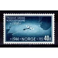 F.327, 40 öre Nordsjöflygningen, * med fastsättare