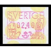 EA.1a, 2.40 kr Lappland och Skåne