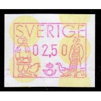 EA.1b, 2.50 kr Lappland och Skåne