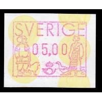 EA.1d, 5.00 kr Lappland och Skåne