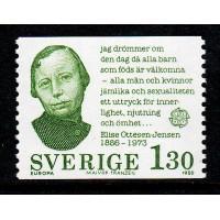 F.1123, 1.30 kr Europa IX - Bemärkta personer