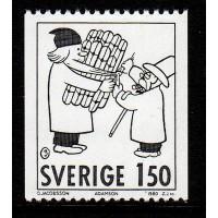 F.1143, 1.50 kr Svenska serier