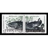 F.1666+1667SX, 2.50 kr Sällsynta sötvattenfiskar