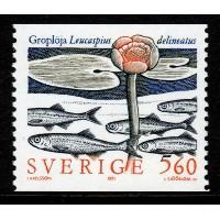 F.1671, 5.60 kr Sällsynta sötvattenfiskar