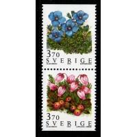 F.1900+1902SX, 3.70 kr Fjällblommor