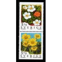 F.1901+1903SX, 3.70 kr Fjällblommor