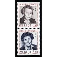 F.1960+1961SX, 6 kr Europa XXV. Berömda kvinnor