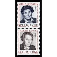 F.1961+1960SX, 6 kr Europa XXV. Berömda kvinnor