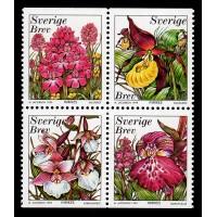 F.2135-2138HBL,  Orkideer