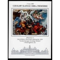 F.2192BL, 50 kr Czeslaw Slanias 1000:e frimärke