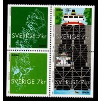 F.2245-2248HBL, 7 kr Europa 2001