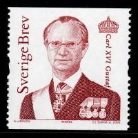 F.2382, Carl XVI Gustaf & Drottning Silvia