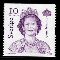 F.2383, 10 kr Carl XVI Gustaf & Drottning Silvia