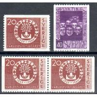 F.511-512, Världsflyktingåret 1959-1960 **
