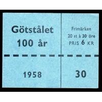 H.123, Götstålet 100 år