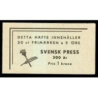 H.73, Svensk Press 300 år