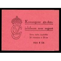 H.83, Gustaf V:s 40-årsjubileum som regent