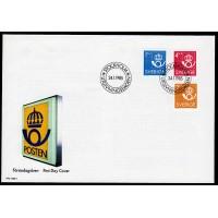 F.1333-1335, Postens emblem 24-1-85