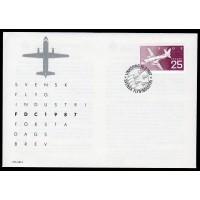 F.1444, Svensk flygindustri 10-3-87