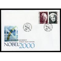 F.2217-2218, Nobelpristagare - Litteratur 7-10-00