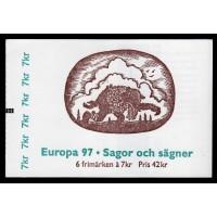 H.483, Europa XXVI. Sagor och legender John Bauer, RT + cyls 2 + knr 13095 - trippel!!!