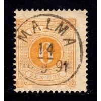L.14, 6 öre Lösen T.13, MALMA 14-9-94 [R/VG]